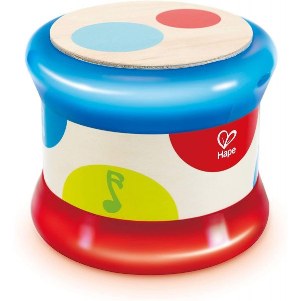 Hape Baby Drum Wooden Toy