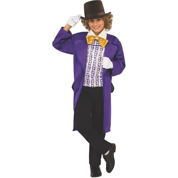 Rubies Willy Wonka Childs Costume Large