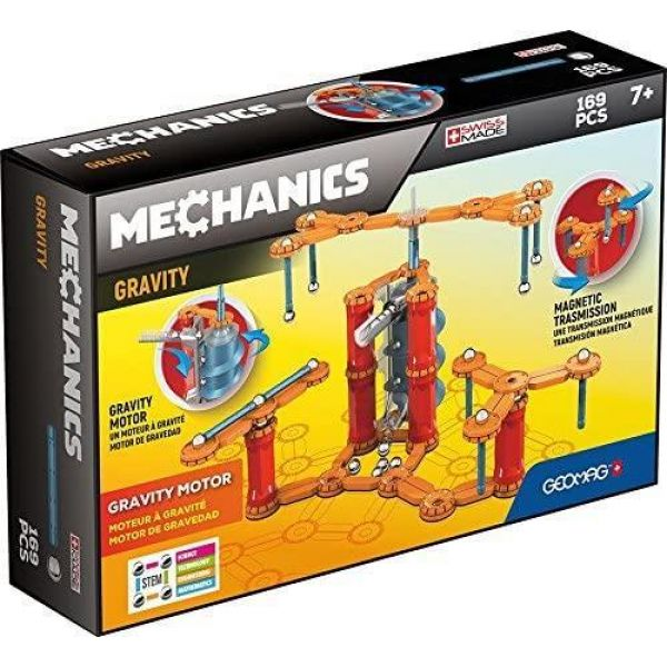 Geomag Mechanics Gravity Motor System- 169 Pieces