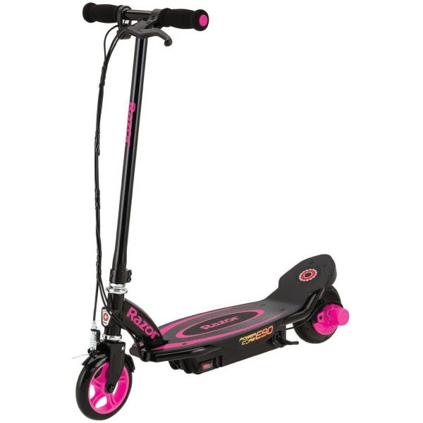 Razor E90 Electric Scooter Power Core Pink