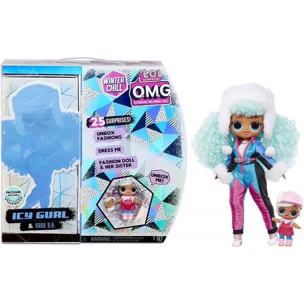 L.O.L. Surprise! O.M.G. Winter Chill ICY Gurl Doll
