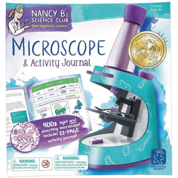 Learning Resources NancyB's Microscope & Activity Journel