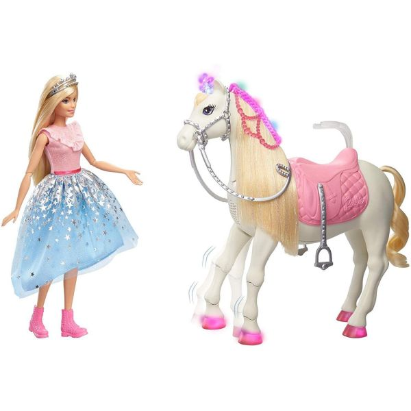 Barbie Princess Adventure Doll Prance & Shimmer Horse