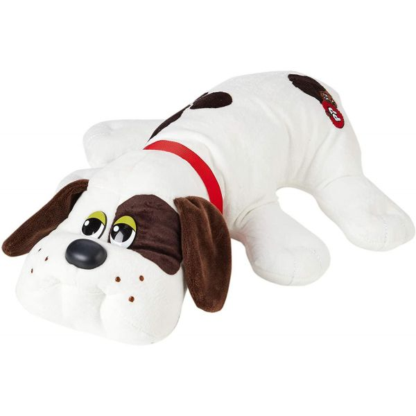 Pound Puppies White with Dark Brown Spots