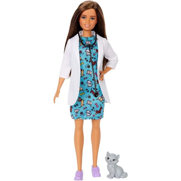 Barbie Career Dolls Pet Vet