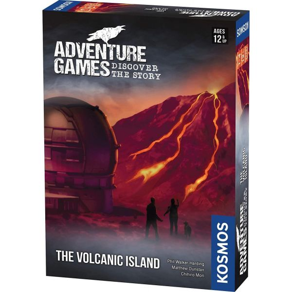 Thames and Kosmos The Volcanic Island Adventure Games