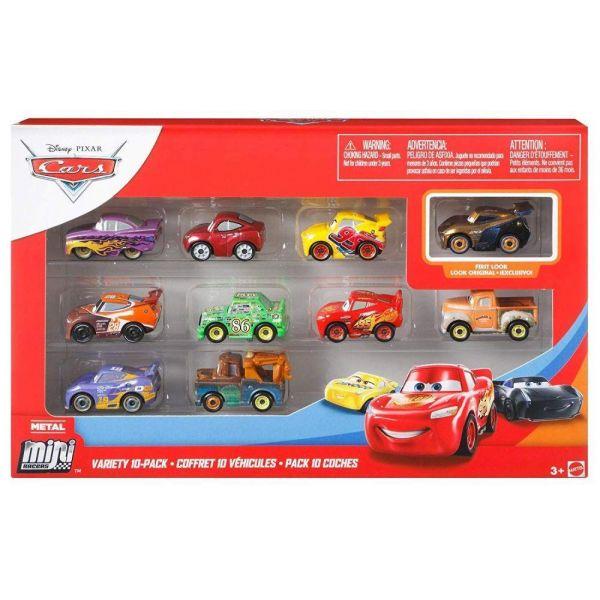 Disney Pixar Cars Variety 10 Pack Assortment