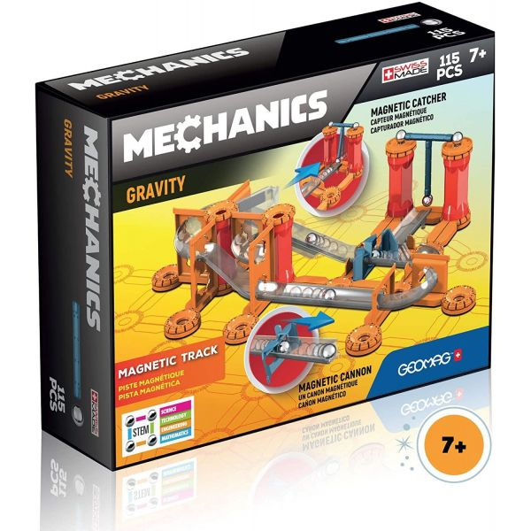 Geomag Mechanics Gravity Magnetic Track- 115 Pieces
