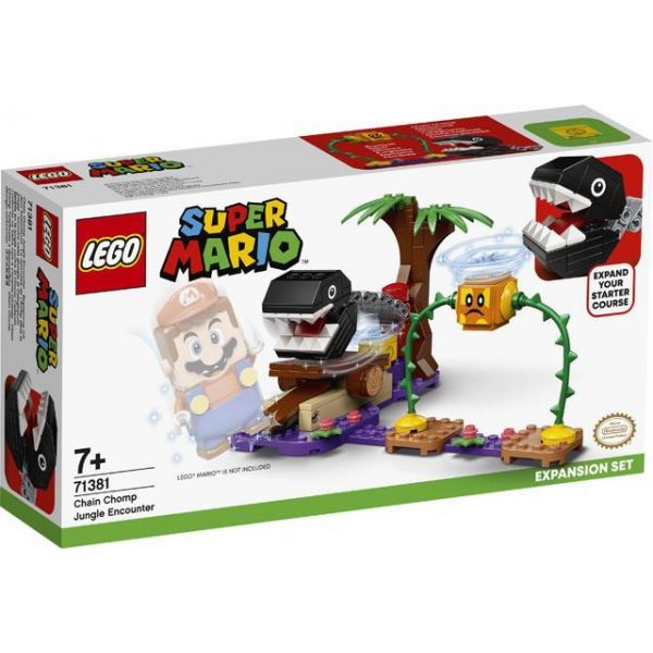 Lego Super Mario Chain Chomp Jungle Encounter Expansion Set