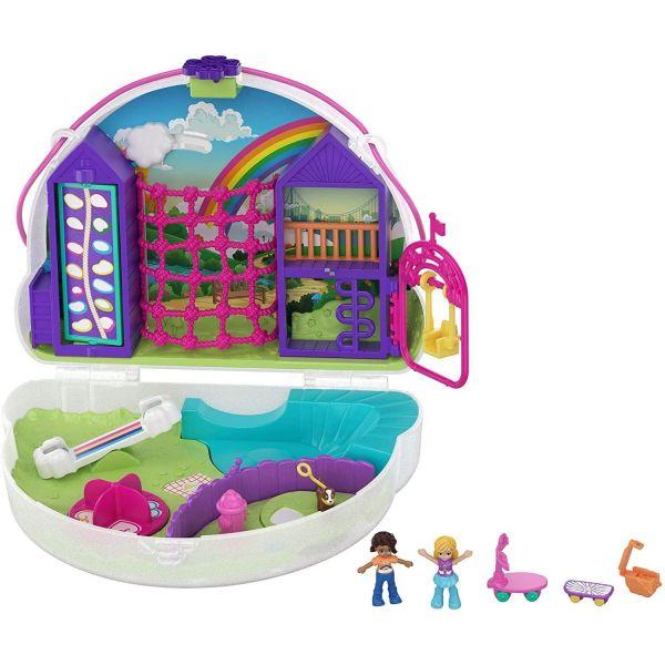 Polly Pocket Rainbow Dream Purse