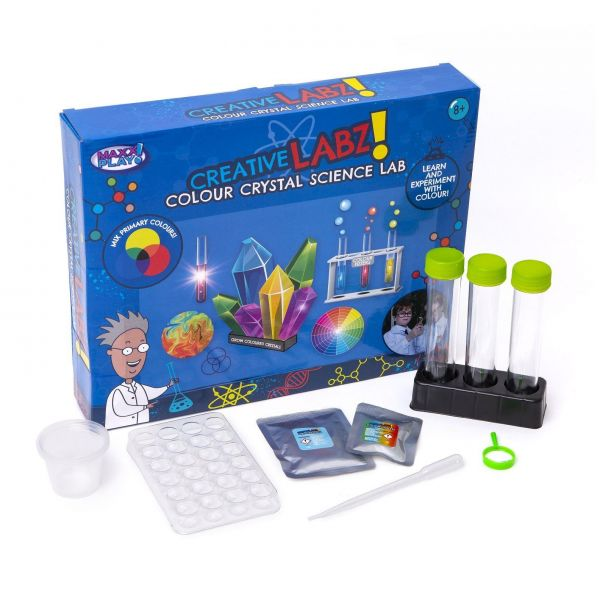 Creative Labz Colour Crystal Science Kit Lab