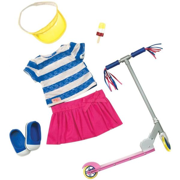 Our Generation Cute To Scoot Doll Outfit