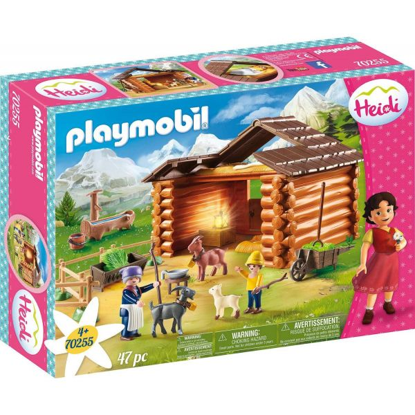 Playmobil 70255 Heidi Peter's Goat Stable