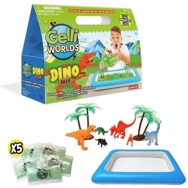 Zimpli Kids Gelli World's Dino Pack