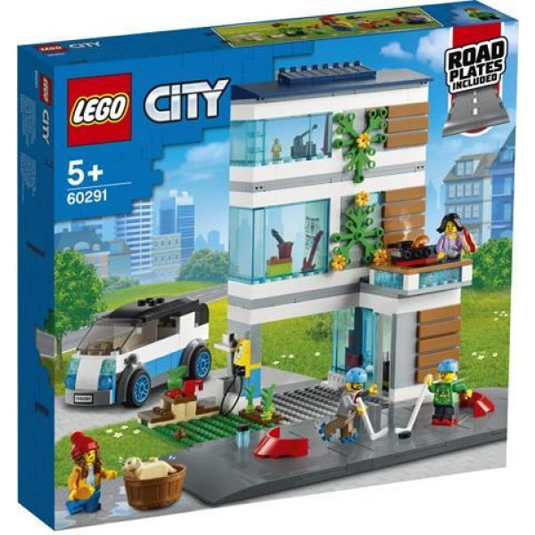 Lego City Family House 60291