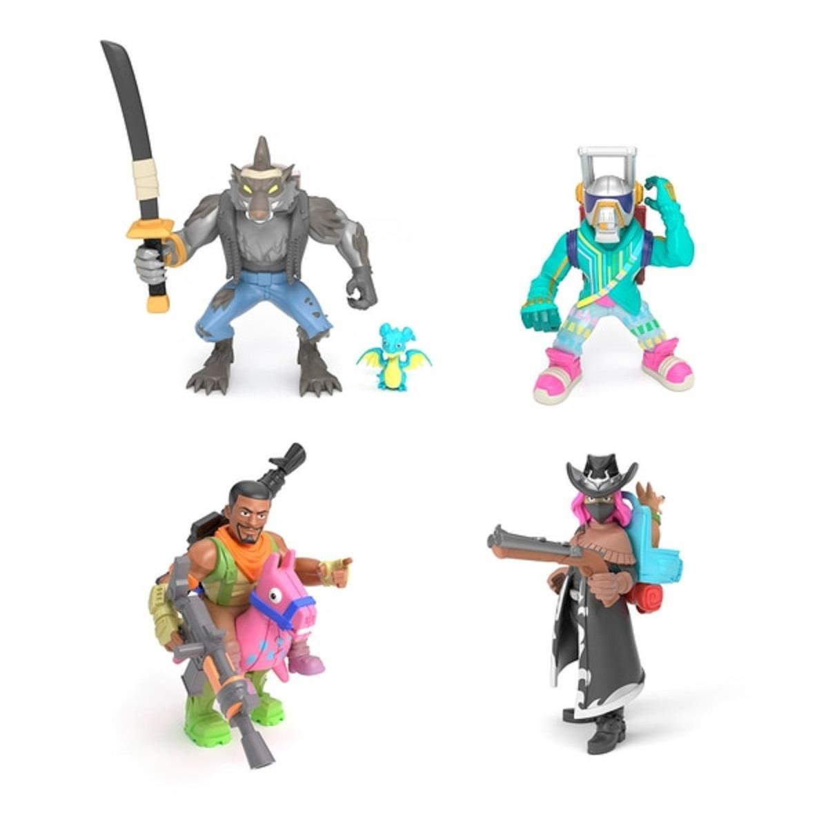 Fortnite Battle Royale Collection Figures 4 Pack